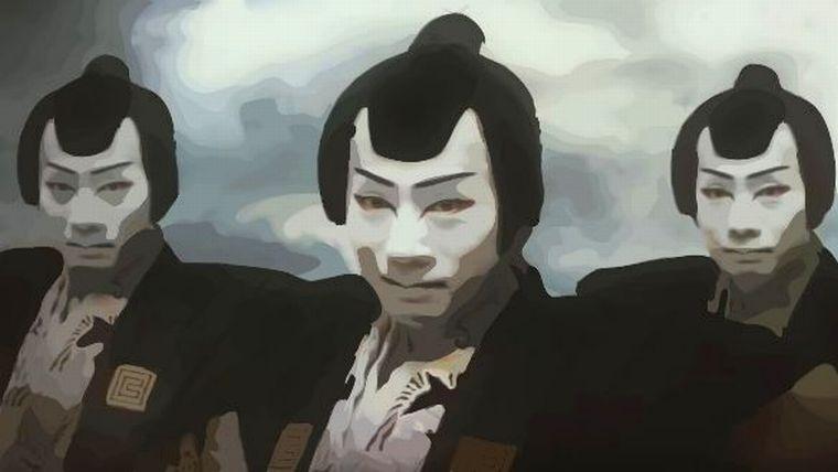 奉行クラウドCMの歌舞伎役者は誰?首の動きが気持ち悪い?