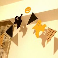 【ハロウィン飾り付け】100均で簡単に手作りしよう!おしゃれに装飾!