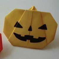 【ハロウィン折り紙】簡単な折り方を解説したサイトを紹介!立体かぼちゃやおばけなど