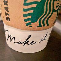 make it yours(スタバ)の意味は?カップがオシャレ!