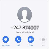 +247(アセンション島からの電話着信)は何者?目的は詐欺?